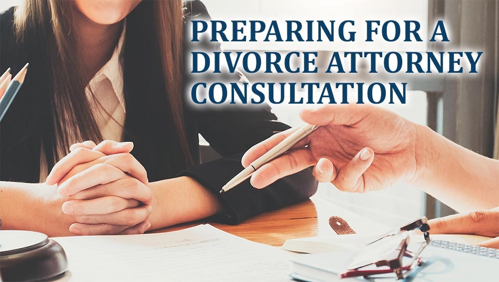 Woman at Divorce Attorney Consultation