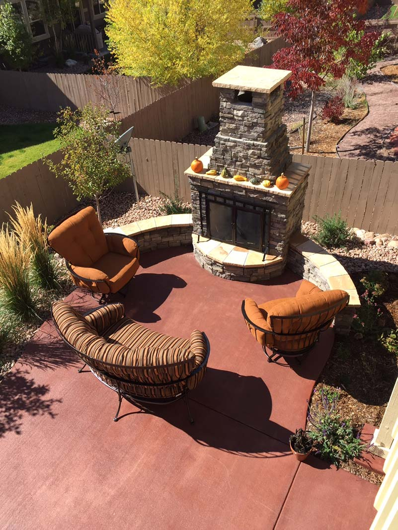 Outdoor fireplaces provide year-round versatility and make a stunning architectural statement.