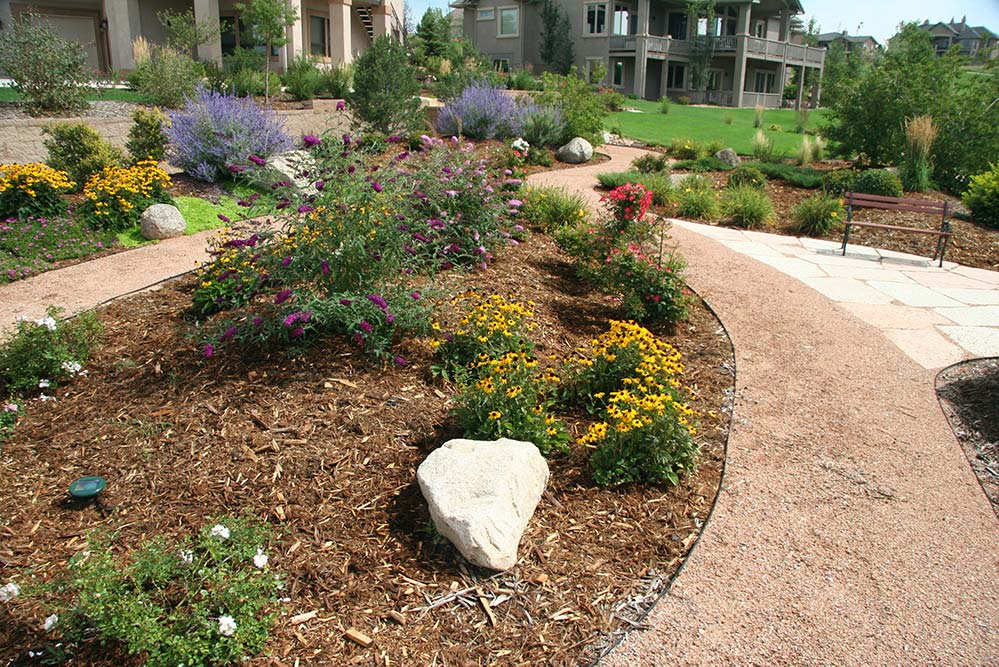 native planting bed