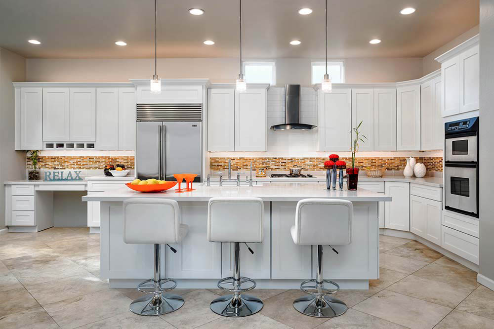Finished Kitchen Remodeling Project for a residential home in Scottsdale, AZ.