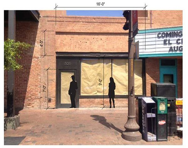 Earl of Sandwich storefront under construction