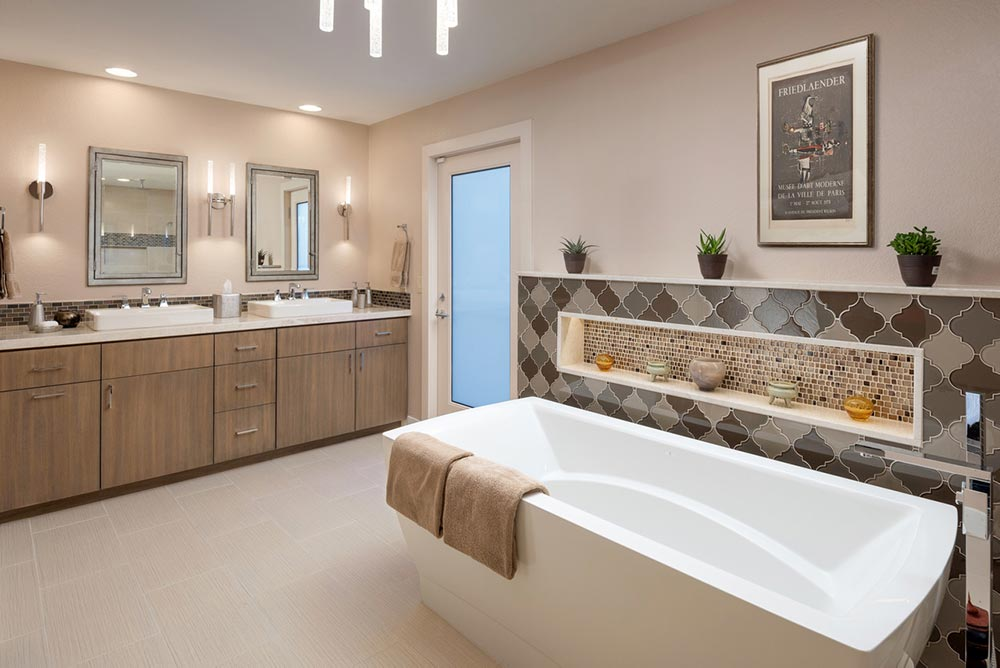 example of a luxury bathroom design and renovation in Scottsdale, AZ.