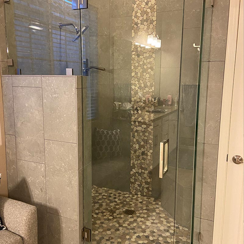 after photo of bathroom remodel #1