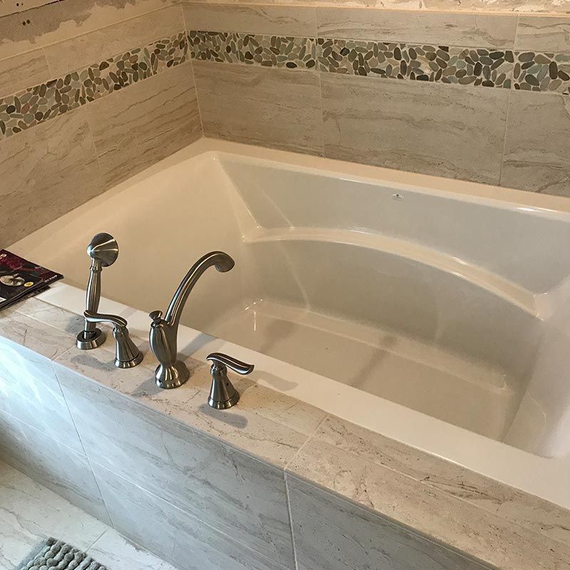 after photo of bathroom tub remodel