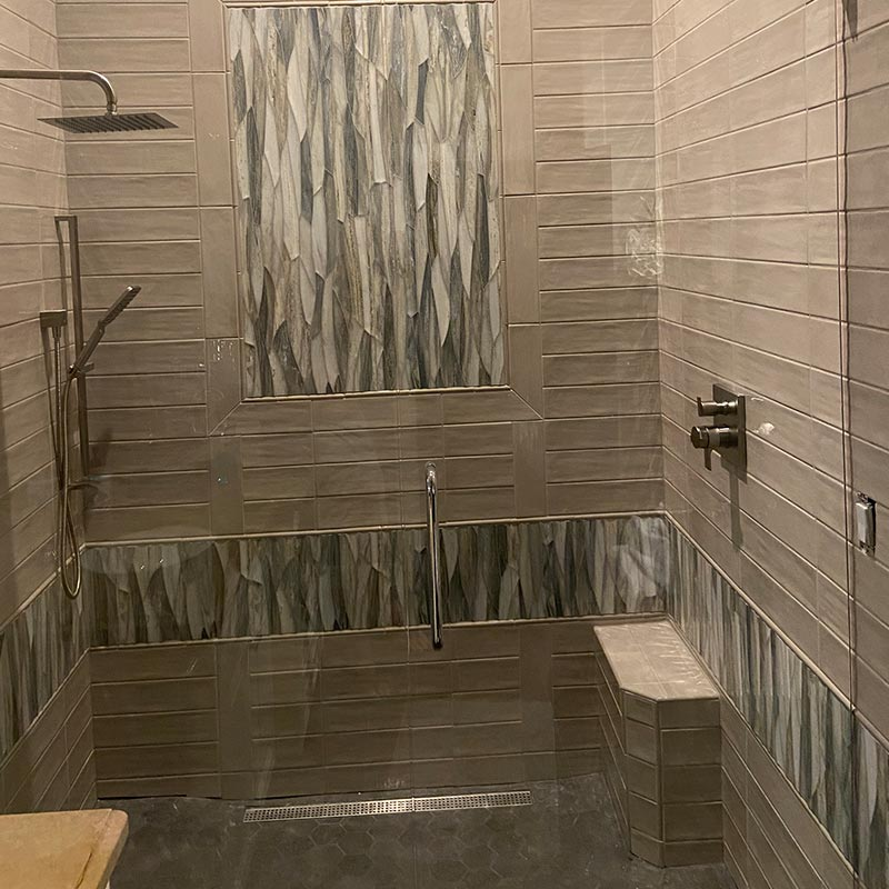 after photo of master bathroom
